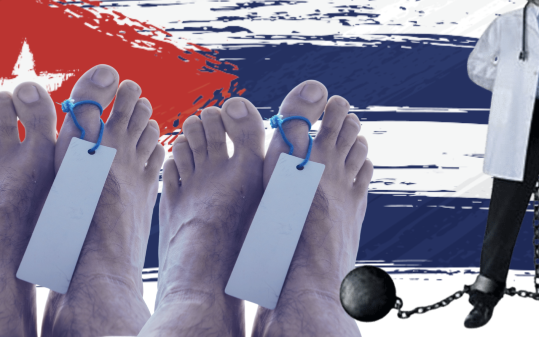Cuba is dying while its slave doctors work abroad